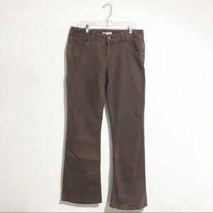 CAbi #512R Brown Denim Jeans Sz 10